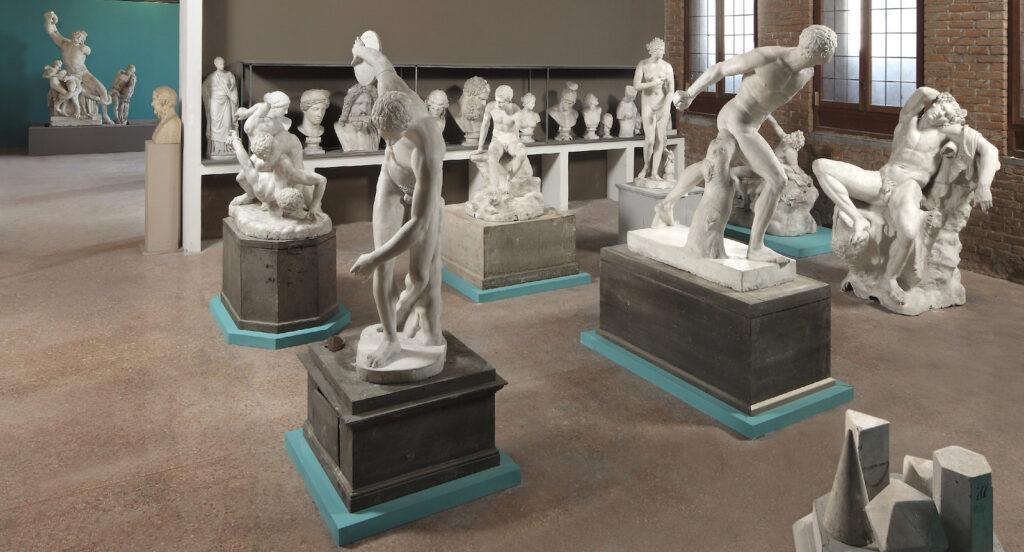 Gipsoteca e Collezione d'Arte Scultorea dei Musei Civici di Pavia - Progetto Cast.  Totem multimediale interattivo con stampa 3D. Musei tra innovazione e digitale