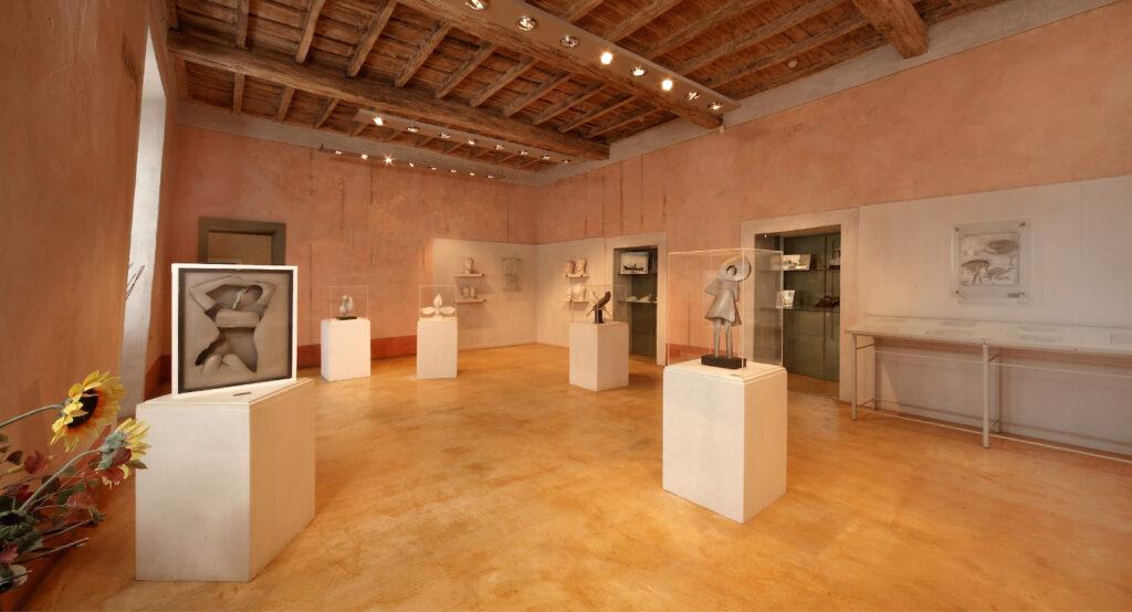 Museo Regina di Mede. Progetto CAST Pavia. Totem multimediale interattivo con stampe in 3D. Musei  tra innovazione e digitale